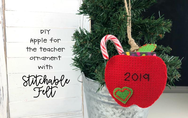 Stitchable Felt Christmas Ornament