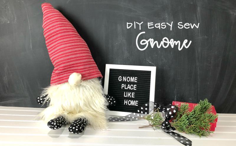 DIY Easy Sew Gnome