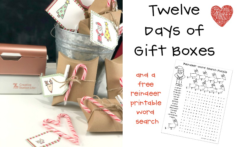 Simply Adorable Twelve Days of Christmas Gift Boxes